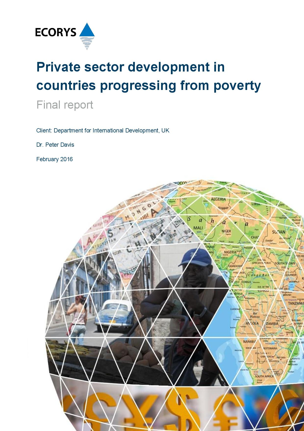 Private Sector Development in Countries Progressing from Poverty (for publication)